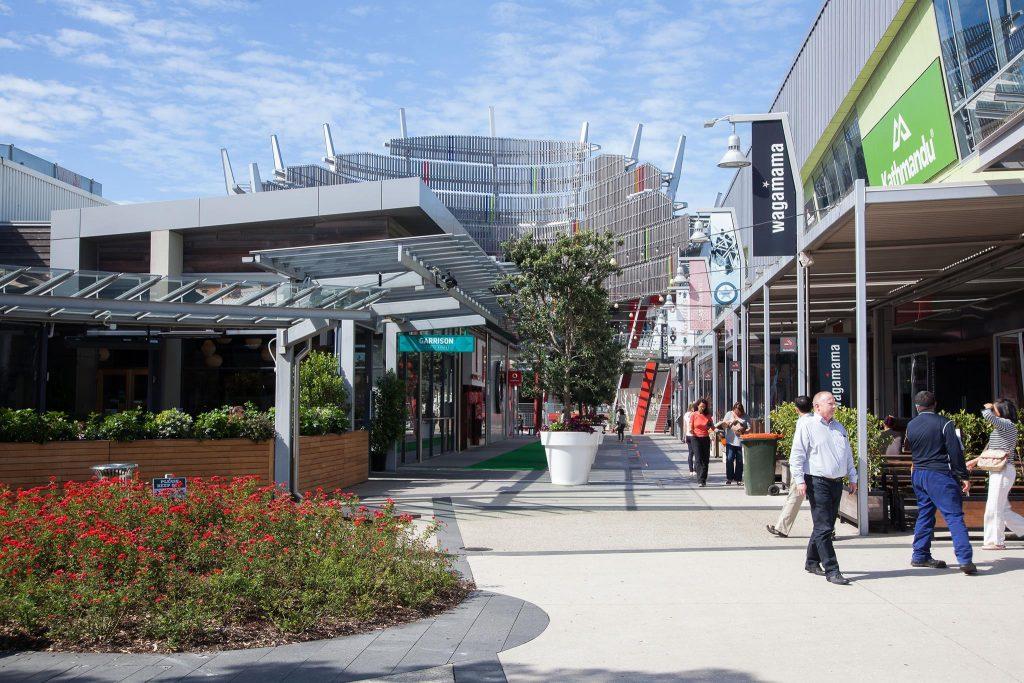 Sylvia Park shopping à Auckland