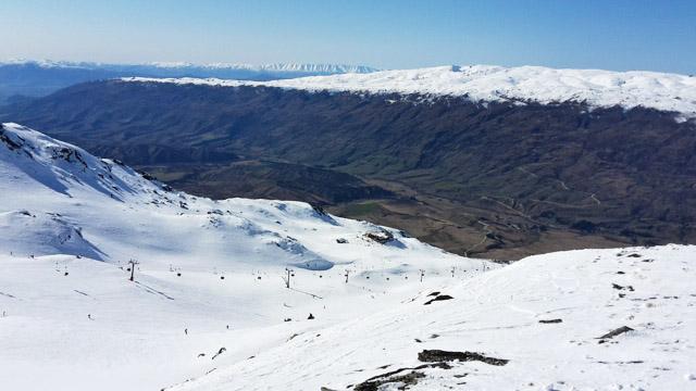 station, ski, wanaka, nz, nouvelle-zélande , cardrona