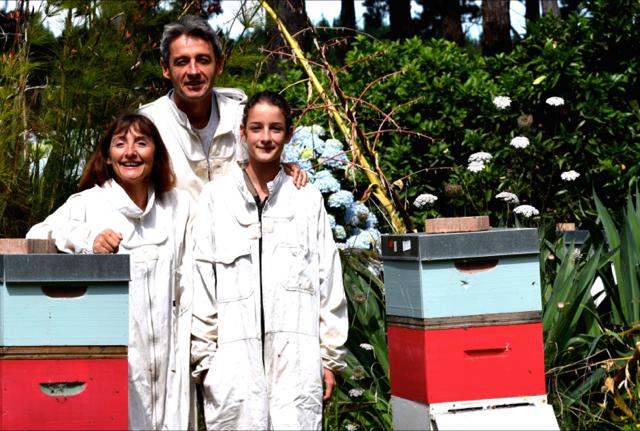 Carole, Frank et leur fille Tea