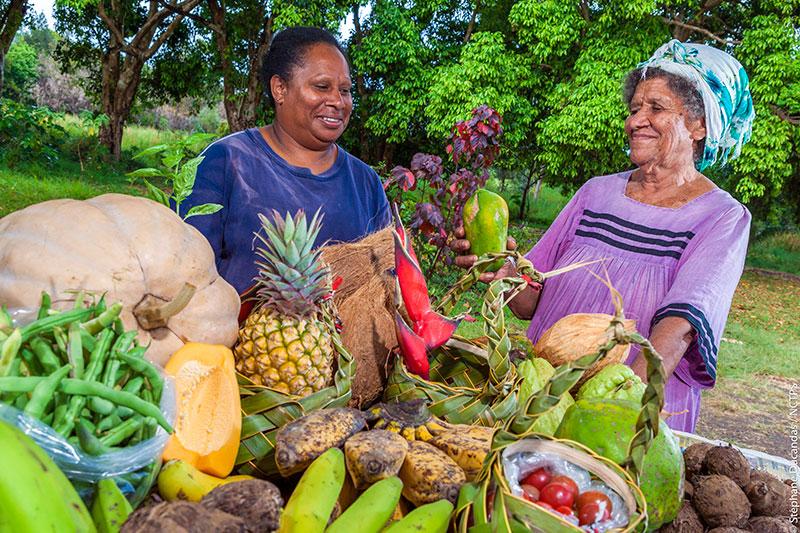 Fruits tropicaux en Nouvelle-Calédonie