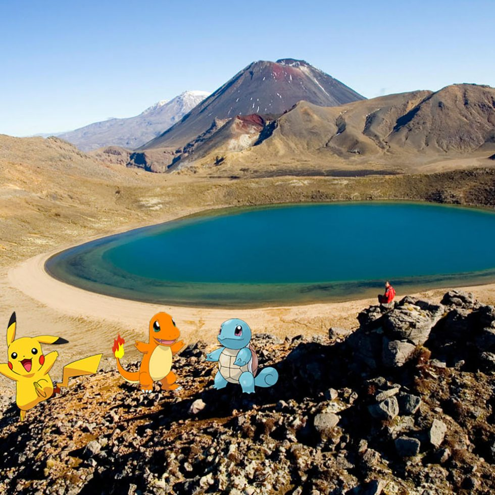 Pokémon Go en NZ