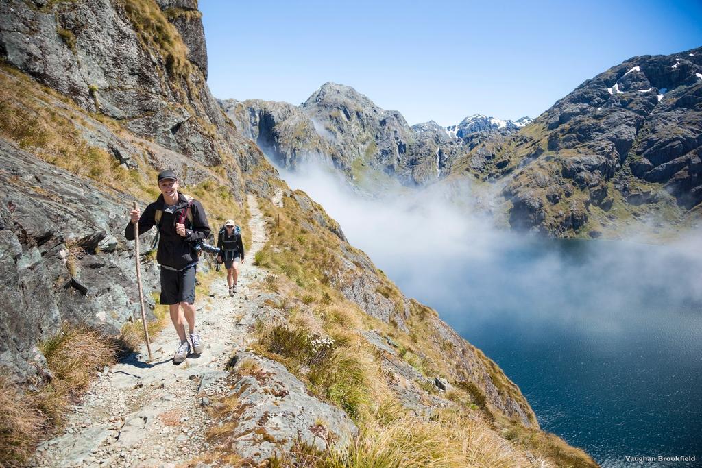 La Routeburn Track sur l'Ile du Sud de la Nouvelle-Zélande