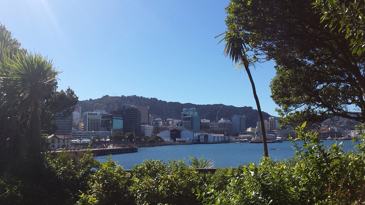 Vue sur Wellington