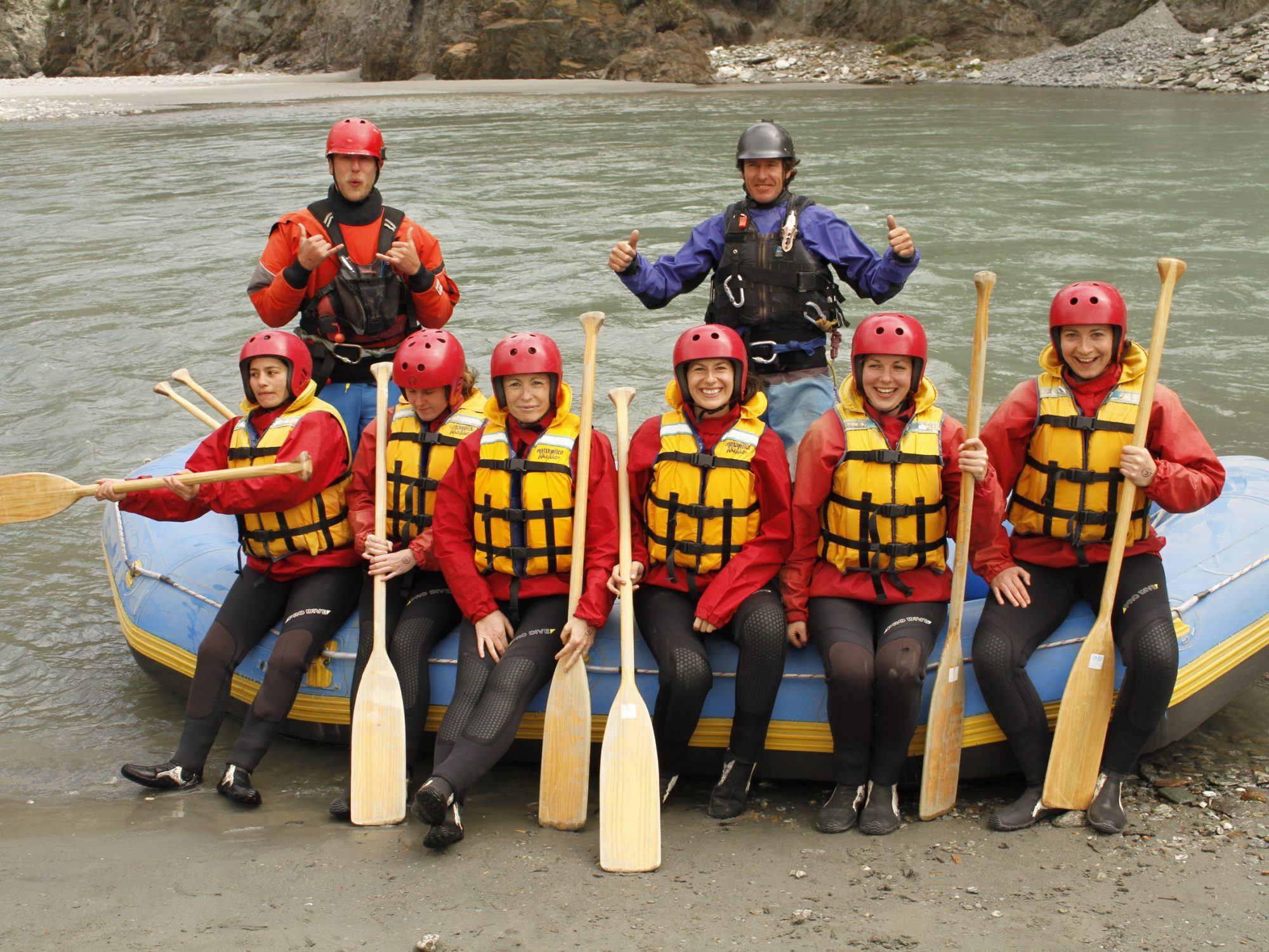 Sortie rafting à Queenstown