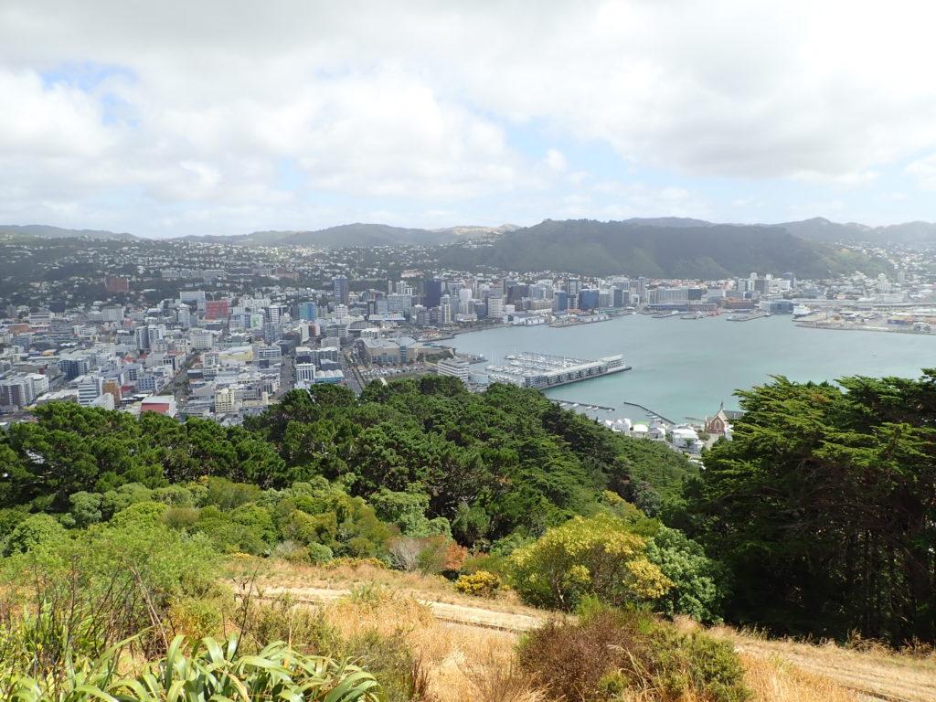 Vue depuis Mt Victoria à Wellington en Nouvelle-Zélande.