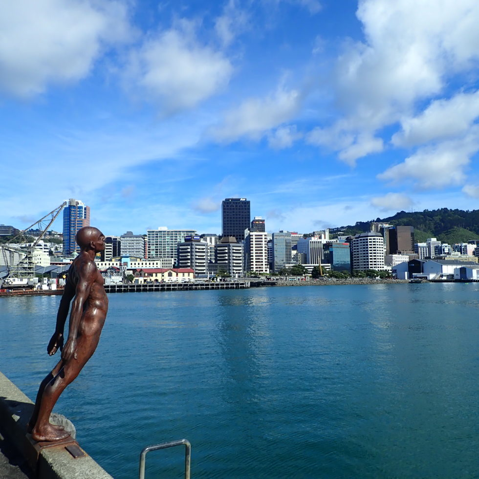 Waterfront de Wellington en Nouvelle-Zélande
